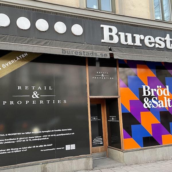 Retail & Properties har överlåtit Burtestads Skor - Bröd & Salt expanderar sin kedja